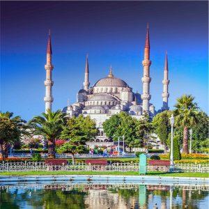 İstanbul manzaralı gergi tavan resimleri