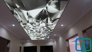 3D Koridor Gergi Tavan