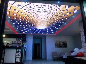 3D Gergi Tavan Modelleri