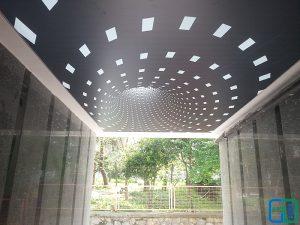 3D Gergi Tavan Uygulama Modelleri
