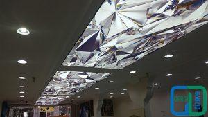 3D Koridor Gergi Tavan Modelleri