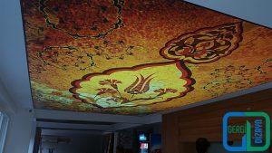 Ebru Desenli Gergi tavan