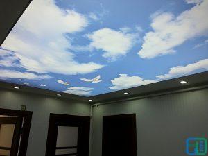 Gökyüzü Gergi Tavan