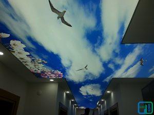 Gökyüzü Gergi Tavan Koridor