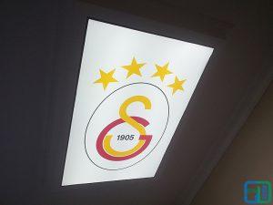 galatasaray logo gergi tavan