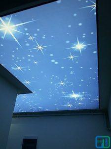 Gergi Tavan Gece Gökyüzü Koridor Uygulamaları