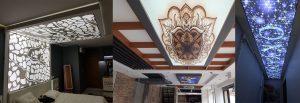 Gergi tavan modelleri yeni